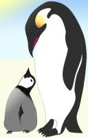 Emperor Penguin by Wolfgodess