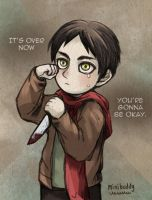 Little Eren - Attack on Titan by minibuddy