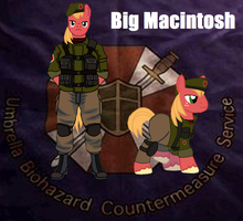 MyLittleU.B.C.S. Big Macintosh by ZergRex