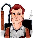 Bill Murray-Peter Venkman by KnightofLight84