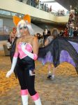 Sonic The Hedgehog's Rouge The Bat Cosplay by GamerZone18