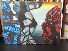 Red Vs Blue With A Twist by InvisibleCorpseGirl