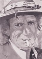 Keith Richards by SvdK92