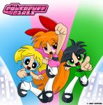 The Powerpuff Girls CF 2007 by Coffgirl