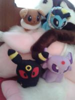 Plushies That I've Gotten In The Mail Today!!! by Celeste-the-Cat
