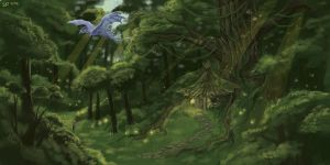 Westlin Wood by theCoffeeDragon