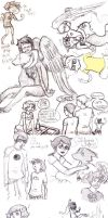 Homestuck Duck Doodles by kiripop