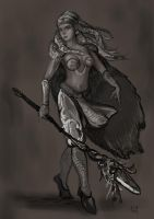 Alana of the Ice Mountains by Cinvira