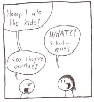 Honey, I Ate the Kids by furkel