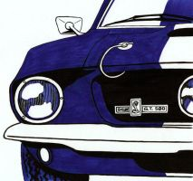 Shelby GT 500 by nessi6688