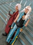 Female Dante and Vergil by SapphireEagle