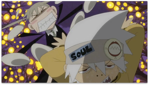 maka annoyed with soul background by burnt-sonic