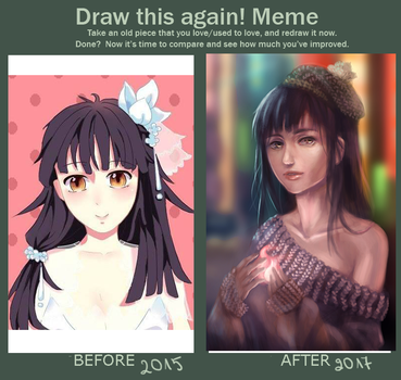 Meme:  Before And After by Nonomy314