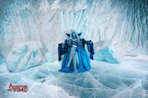 Adventure Time: The Queen of Ice by Aster-Hime