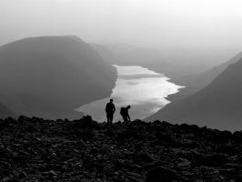 Wastwater Silhouette by myklepics