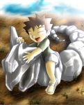 Scorching Day- Brock and Onix by AdvanceX