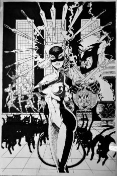 Catwoman by LeraRemarque