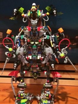 The ultra build mech ((front view)) by Trueblur1