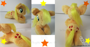 Apple Jack MLP Plushie by Whyte-Raven