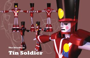 The Steadfast Tin Soldier Final Render by creon77