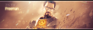 Gordon Freeman by supakilla9