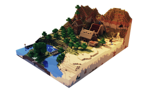 Minecraft Map Render by VicTycoon