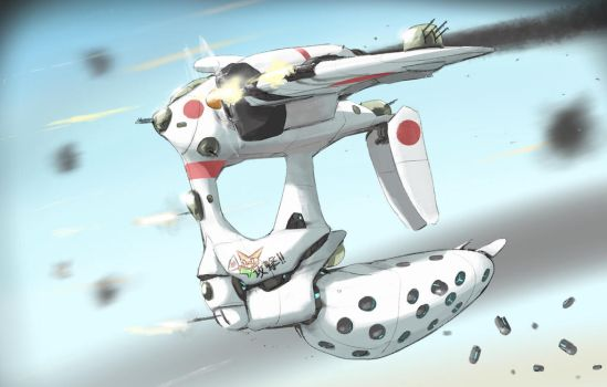 Bomb Pod Dive-Bomber by joulester
