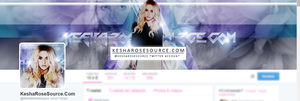Twitter Theme with Kesha by BrielleFantasy