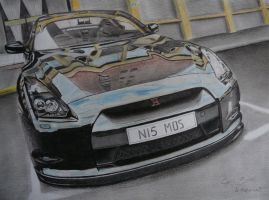 finish skyline gtr 35 by cyril-design