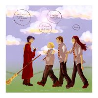 Quidditch House Cup by Maseiya