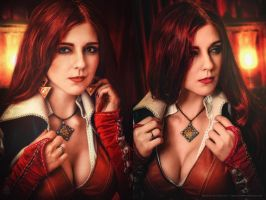 Triss Merigold (The Witcher 3) (3) by VirdaSeitr