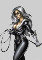 Black cat by DakzpeR
