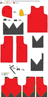 Team Magma Admin Tabitha Jacket Sewing Tutorial by Idellechi