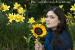Among the flowers by eyefeather-stock