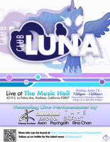 Club Luna Poster #2 by KibbieTheGreat