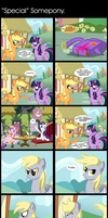 Comic 37: 'Special' Somepony by ZSparkonequus