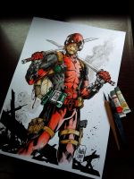 DEADPOOL! by MARCIOABREU7
