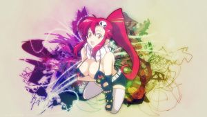Yoko Littner 'White'  - Wall by FacelessVixen