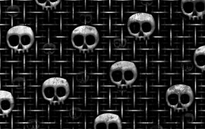 Skull Grid by hourglassthorne