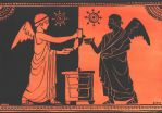 Detail from Greek Pottery by Jb-612