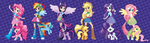 Equestria Girls (Fixed) -The ride is over- by EquestrianGirls