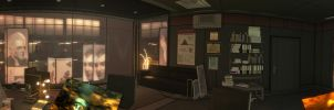 Security Manager Office Panorama by DART-A