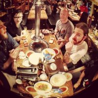 Skrillex - Epic meal time with the homies in Korea by amy291000