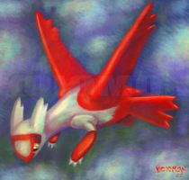 Latias by koiomon
