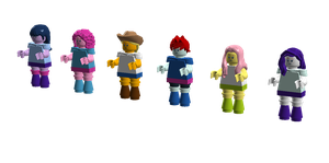Lego My Little Pony Equestria Girls Minifigures by SonicTheDashie