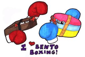 Bento Boxing by Pixelated-Beauty
