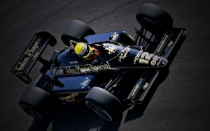 Ayrton Senna Wallpaper Lotus 2 by JohnnySlowhand