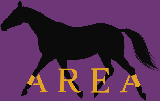 Another Realm Equestian Acres (AREA) Logo by Fjordess