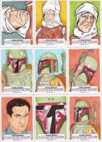 Star Wars Galactic Files Series 2 Sketch Cards 10 by Tyrant-1