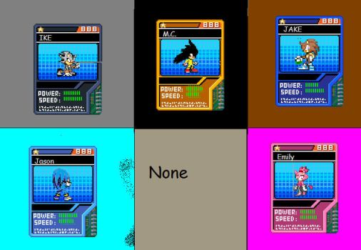 Sonic batle cards by JasonTheEchidna1